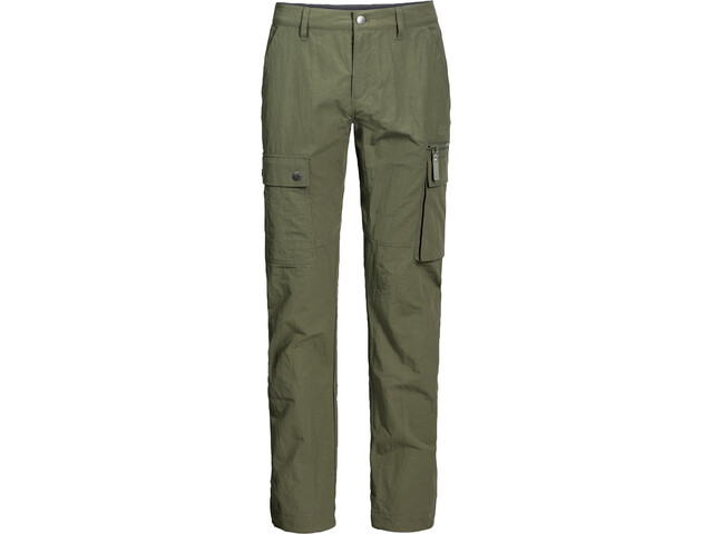 Jack Wolfskin Lakeside Pants Men woodland green